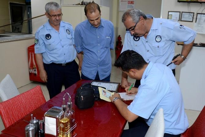 Kumluca'da Zabıtadan Gece Denetimi