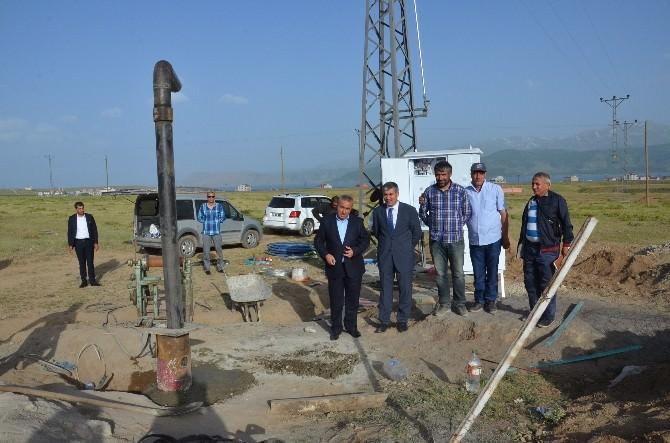 Tatvan'da 10 Yıllık Su Sorunu Çözüldü