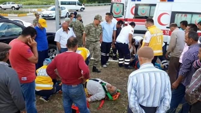 Tokat'ta Kaza: 2 Yaralı