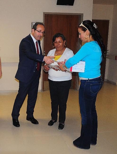 Toros Devlet Hastanesi'nde Rahim Ağzı Kanseri Testi
