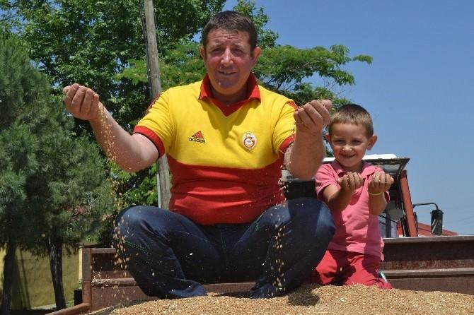 Keşan'da Yılın İlk Buğdayı 1,10 TL'den Satıldı