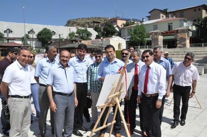 Tunceli'de 'Tarım Ve İnsan' Sergisi