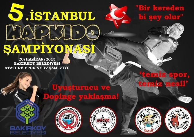 5. İstanbul Hapkido Şampiyonası Heyecanı Başlıyor