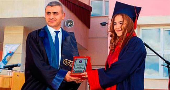 Afşin MYO'da mezuniyet coşkusu