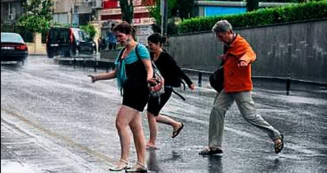 Bugün şemsiyesiz dışarıya çıkmayın!
