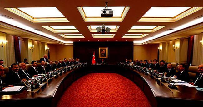 Devletin zirvesinde 'Suriye' toplantısı