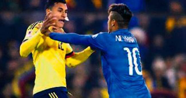 Brezilya yenildi Neymar atıldı