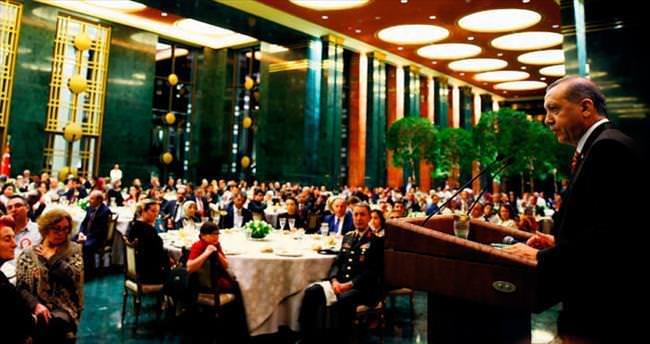 Beştepe'de ilk iftar