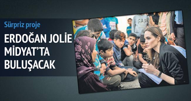 Erdoğan ve Jolie Midyat'da buluşacak