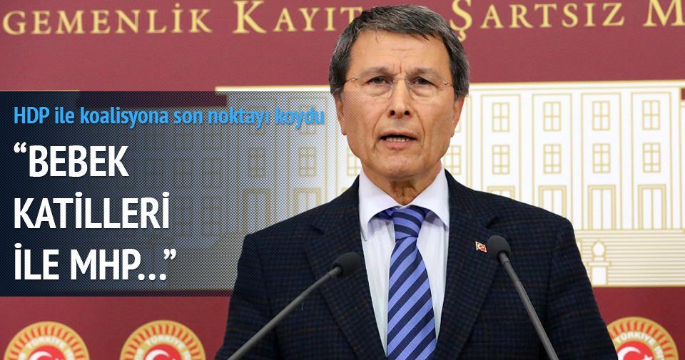 HDP ile koalisyona son noktayı koydu