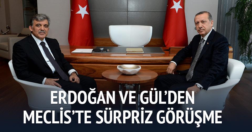 Erdoğan ile Gül görüştü