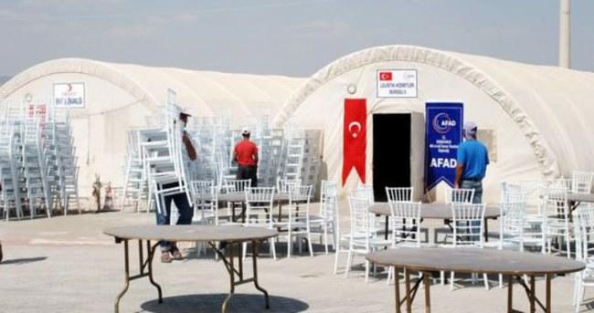 Mardin'de Erdoğan hazırlıkları tamam