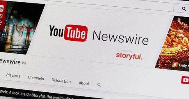 YouTube Newswire kanalını yayınladı