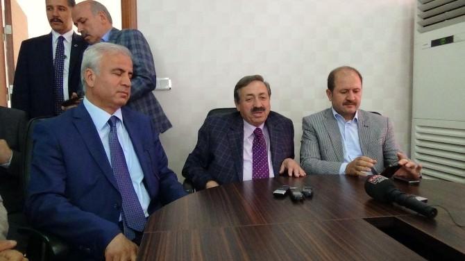AK Parti Milletvekilleri Vatandaşlarla Buluştu