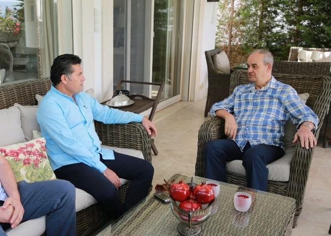 Başkan Kocadon'dan İlker Başbuğ'a Ziyaret