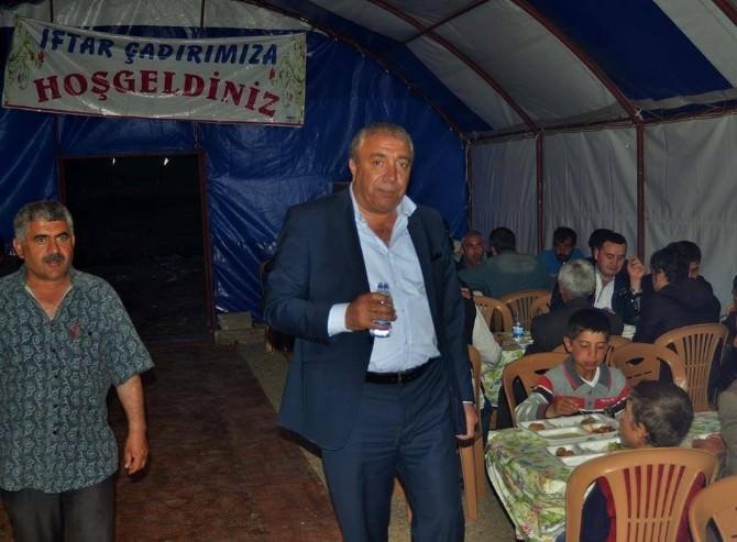 Çat Belediye Başkanı Kılıç, İftar Çadırı Geleneğini Bu Yıl Da Sürdürdü
