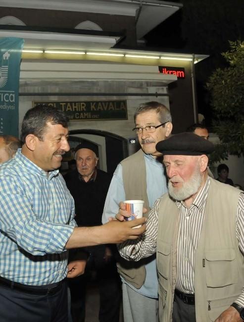 Darıca'da Ağızlar Osmanlı Şerbetiyle Tatlanıyor