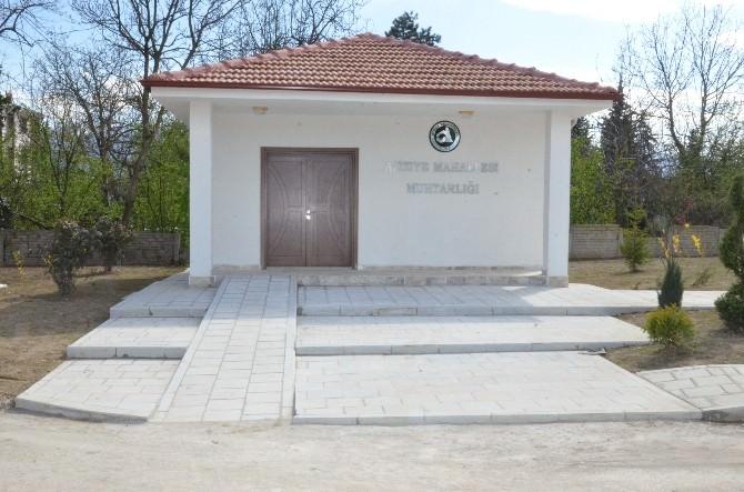 Muhtar Hizmet Binası Yapımında Sıra Konuralp'e Geldi
