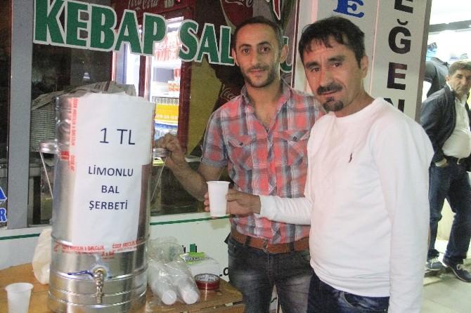 Limonlu Bal Şerbeti Hakkari Gecelerine Damgasını Vurdu