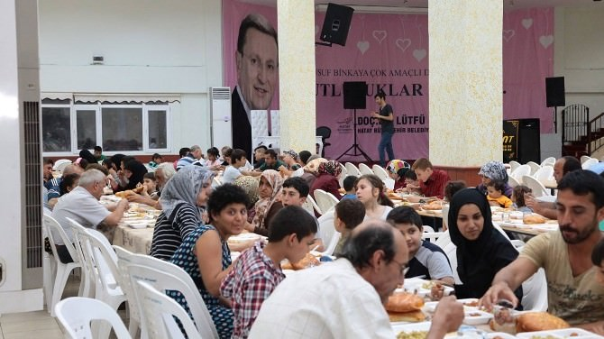 Büyükşehir'den Vatandaşlara İftar Yemeği