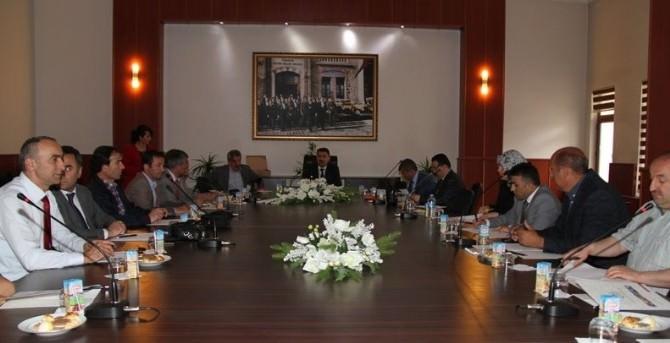 İl Milli Eğitim Danışma Komisyonu Haziran Dönemi Toplantısı Yapıldı