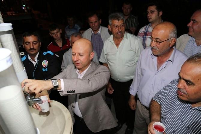 Kocasinan İkram Çeşmesi'nden Ramazan Şerbeti Akıyor
