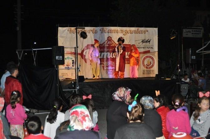 Seydişehir Belediyesi'nin Ramazan Etkinlikleri Başladı