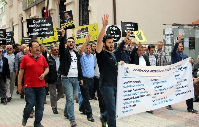 Mısır'daki İdam Kararları Kütahya'da Protesto Edildi