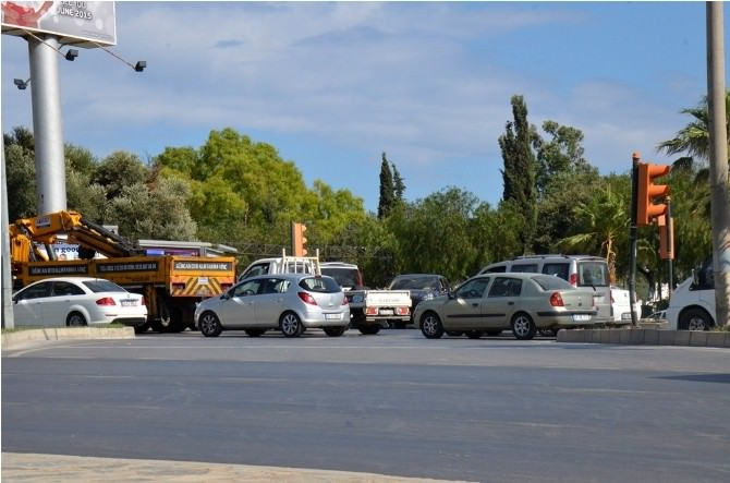 Bodrum'da Trafik Çilesi Başladı