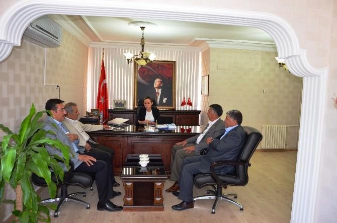 Şahin Ve Tüfenkci'den Yazıhan'a Teşekkür Ziyareti