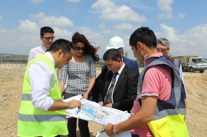 Türkmen Yetkili EXPO Alanını İnceledi