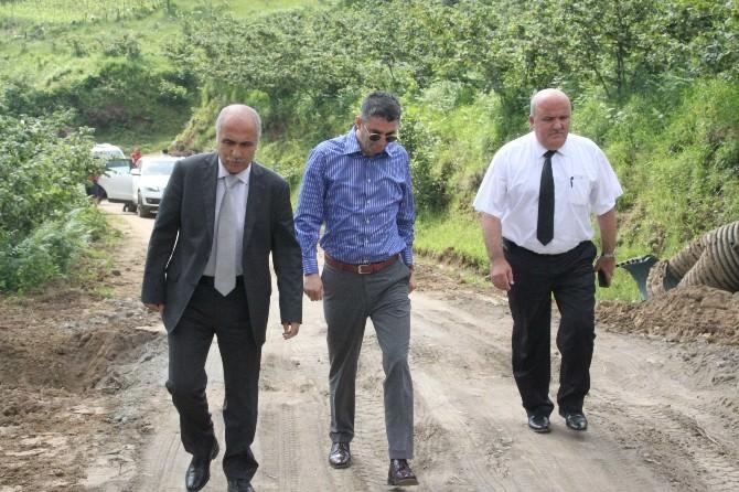 Vali Hasan Karahan Sis Dağı Yaylası'nda İncelemelerde Bulundu