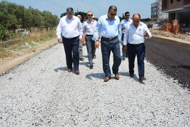 Yunusemre Belediyesi Asfalt Sezonunu Açtı