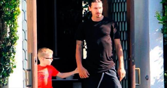 Ibrahimovic'in aile tatili