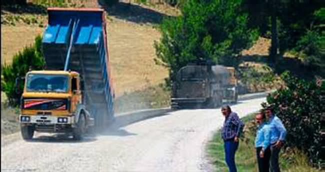 Manavgat yolları asfalta kavuşuyor