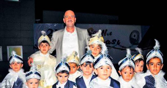 Gölbaşı'nda 215 çocuğa sünnet