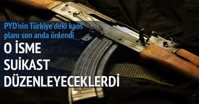 PYD'nin Türkiye'deki kaos planı son anda önlendi