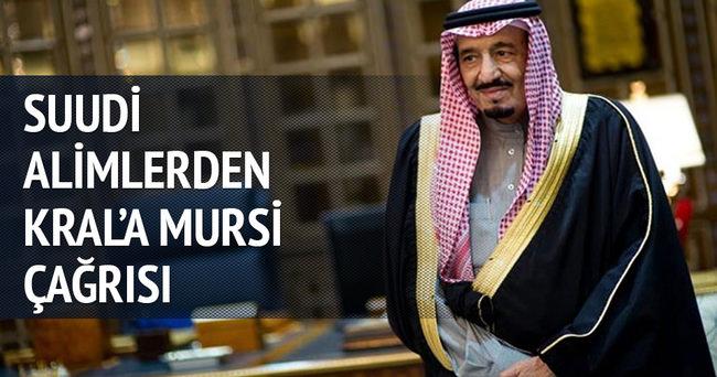Suudlu alimlerden Kral'a Mursi çağrısı