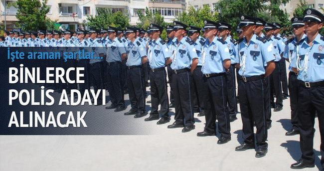 Polis Akademisi 3 bin öğrenci alacak