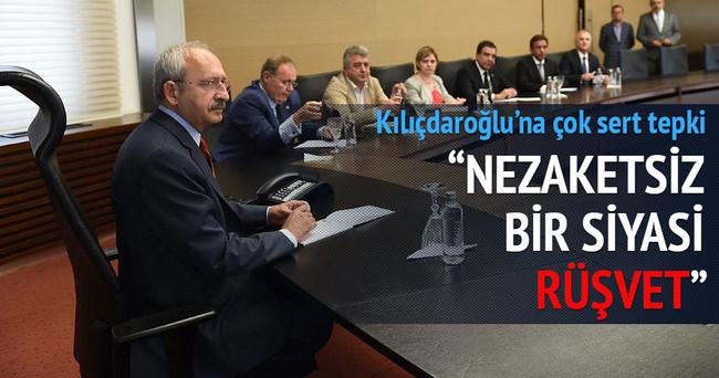 Kılıçdaroğlu'na siyasi rüşvet tepkisi