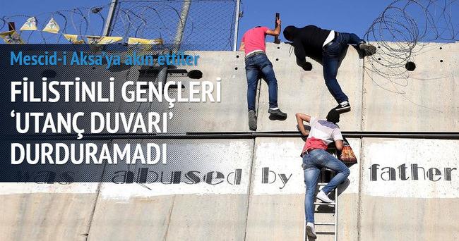 Filistinli gençleri utanç duvarı durduramadı