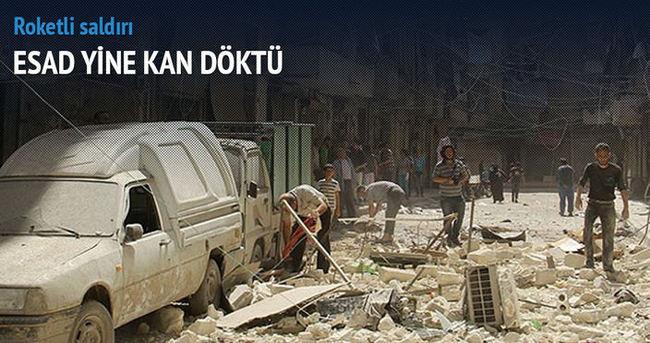 Esad güçlerinden Halep'e saldırı: 10 ölü