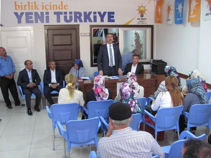 AK Parti Genel Başkan Yardımcısı Gül, Araban'ı Ziyaret Etti