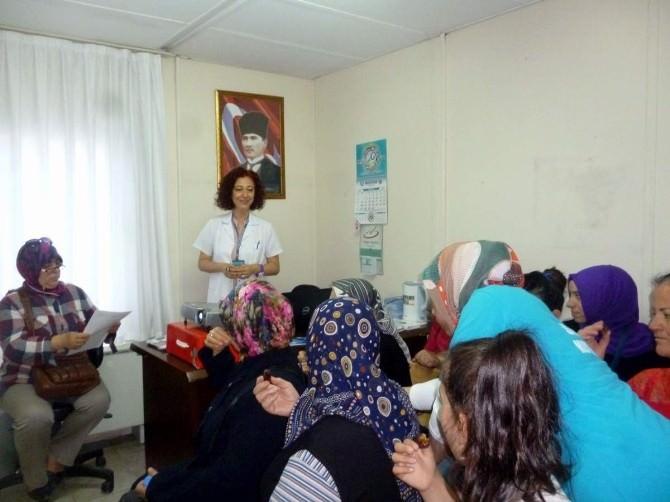 Aliağa Devlet Hastanesi'nden Ramazanda Sağlıklı Beslenme Eğitimi
