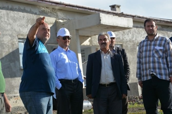 Başkan Köksoy Ve Ekibi Projeleri Yerinde İnceledi