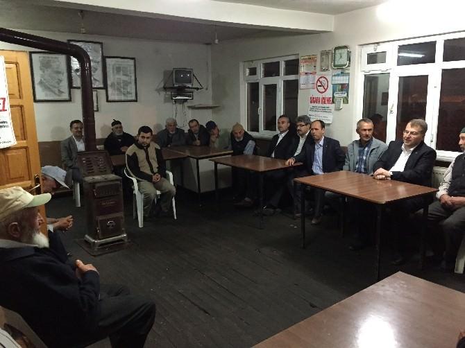 AK Parti Bilecik Milletvekili Eldemir, Teşekkür Ziyaretine Çıktı