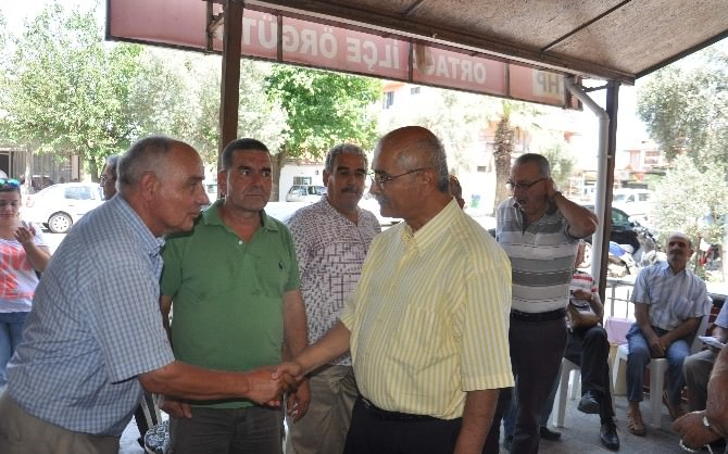 Vekillerden Ortaca CHP'ye Teşekkür Ziyareti