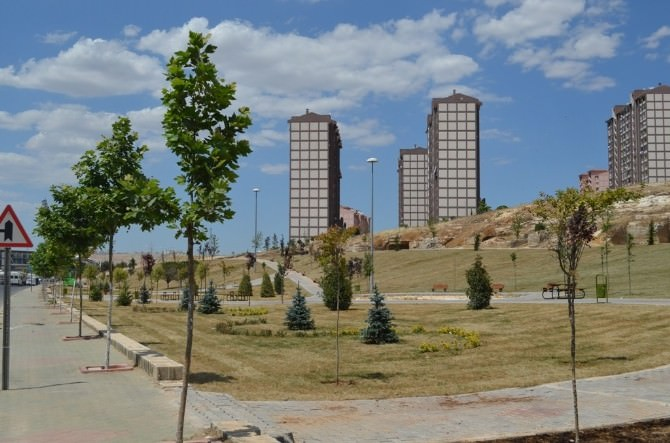 Gaziantep'te Seyrantepe Parkı Açıldı