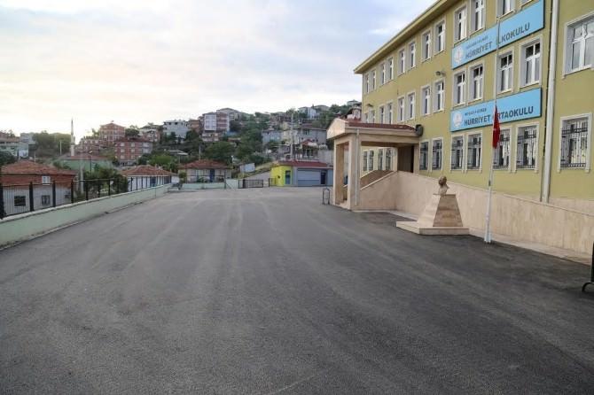 Gebze'de Okullarında Hummalı Çalışma