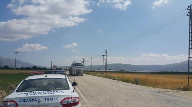 Elmalı Jandarma, Radarla Hız Denetimlerine Başladı